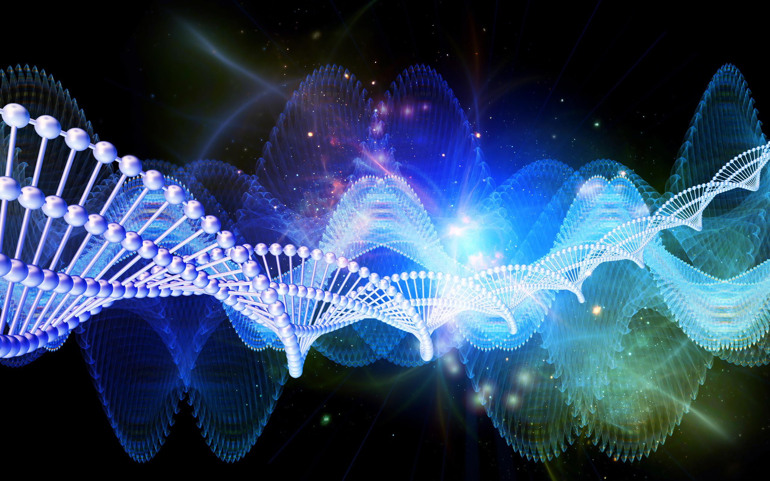 Исцеление ДНК с помощью чувств